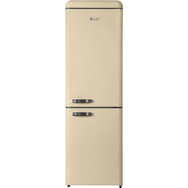 Swan SR11020FCN Fridge Freezer - Cream - SR11020FCN_CR - 1