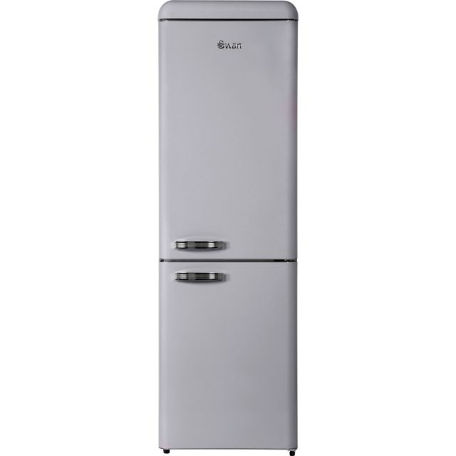 Swan SR11020FGRN 70/30 Frost Free Fridge Freezer - Grey - A++ Rated - SR11020FGRN_GY - 1