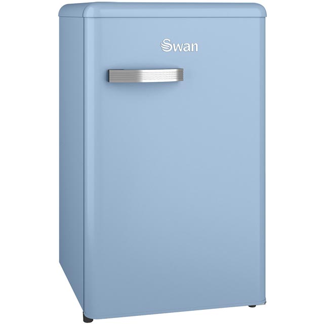 Swan Retro SR11035BLN Fridge - Blue - A+ Rated