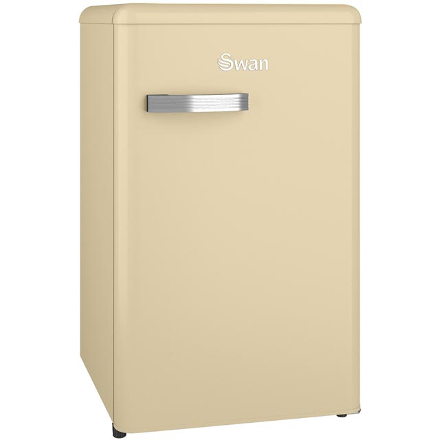 Swan Retro SR11035CN Fridge - Cream - A+ Rated