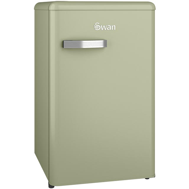 Swan Retro SR11035GN Fridge - Green - A+ Rated