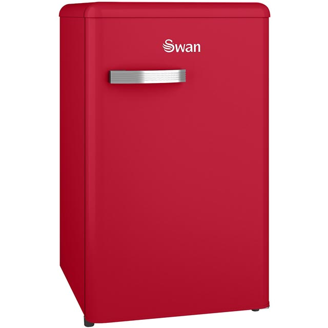 Swan Retro SR11035RN Fridge - Red - A+ Rated