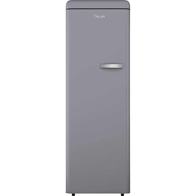 Swan Upright Freezer - Grey - A+ Rated