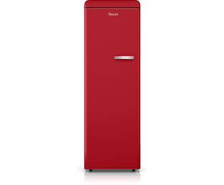 Swan SR11040RN Upright Freezer - Red - A+ Rated - SR11040RN_RD - 1