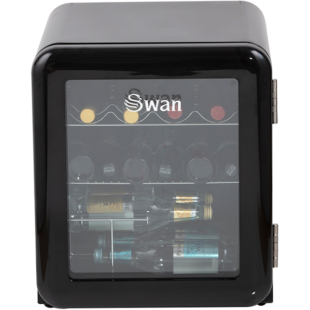 Swan SR16210BN Table Top Wine Cooler - Black - A+ Rated