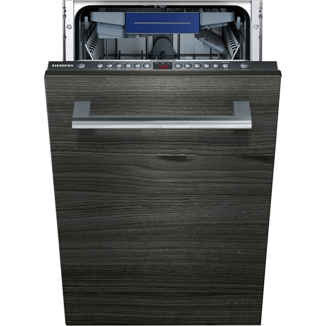 Siemens IQ-300 SR636D00MG Built In Slimline Dishwasher - Stainless Steel - SR636D00MG_SS - 1