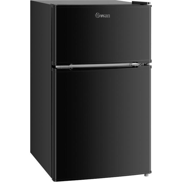 Swan SR75040BLKN 60/40 Fridge Freezer - Black - A+ Rated