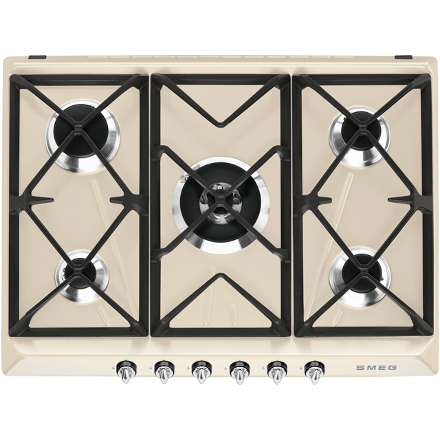 Smeg Victoria SR975PGH Built In Gas Hob - Cream - SR975PGH_CR - 1