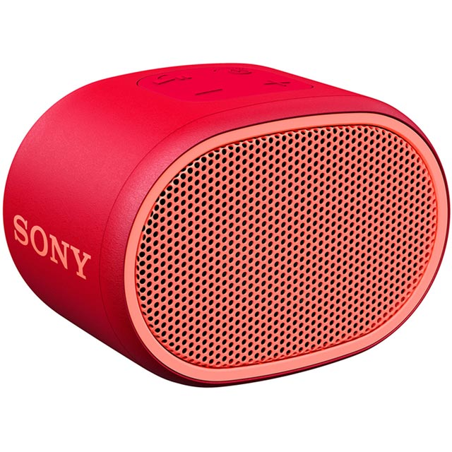 Sony Wireless Speaker in Red