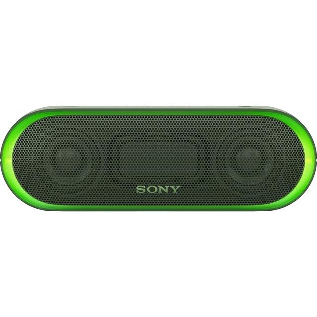 Sony SRSXB20G.CE7 Wireless Speaker in Green