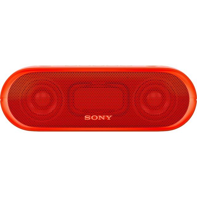 Sony SRSXB20R.CE7 Wireless Speaker in Red