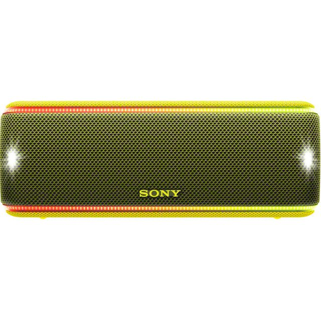 Sony SRS-XB31 Portable Wireless Speaker - Yellow - SRSXB31Y.CE7 - 1