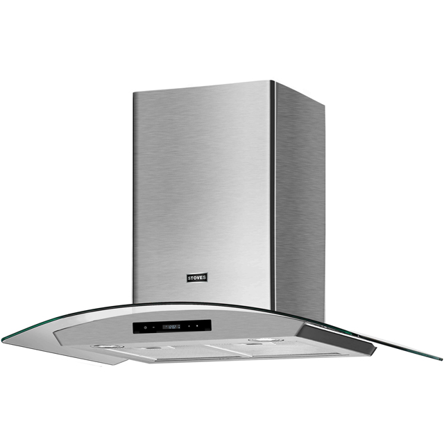 Stoves ST 600 GH 60 cm Chimney Cooker Hood - Stainless Steel - A Rated - ST 600 GH_SS - 1