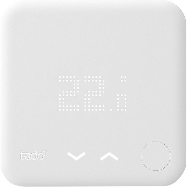 tado Additional Smart Thermostat - DIY Install - White