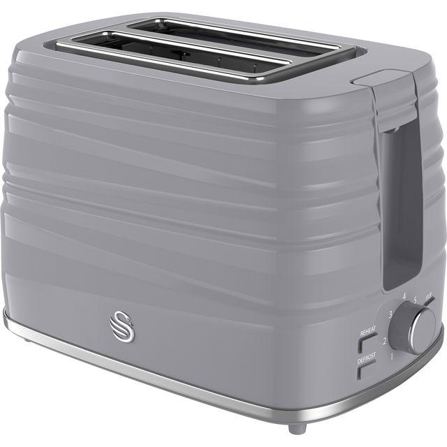 Swan Symphony ST31050GRN 2 Slice Toaster - Grey