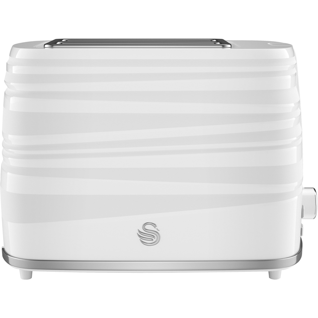 Swan Symphony ST31050WN 2 Slice Toaster - White - ST31050WN_WH - 1