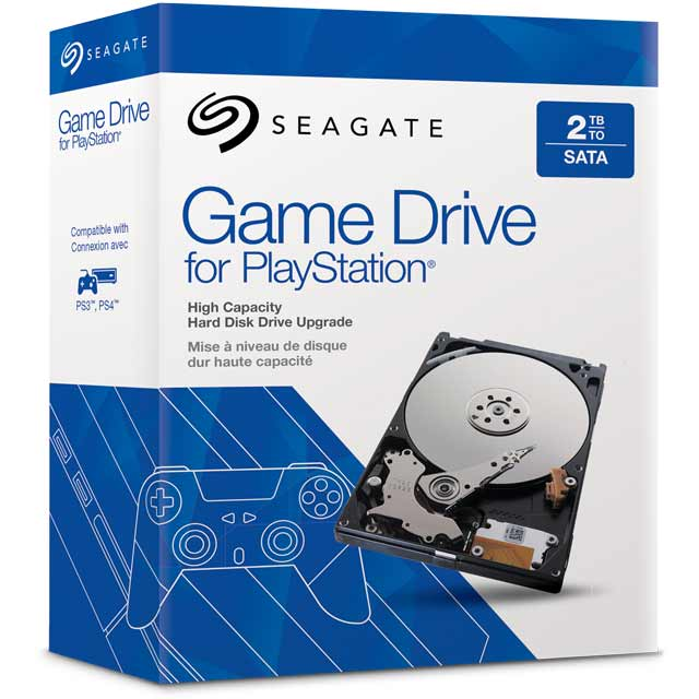 Seagate Game Drive For Playstation 2TB Solid State Hybrid Drive - Black