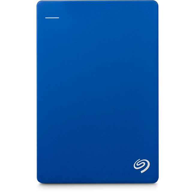 Seagate Backup Plus Slim 1TB Portable Hard Drive - Blue - STDR1000202 - 1