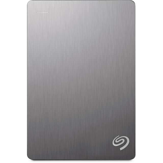 Seagate Backup Plus Portable 5TB Portable Hard Drive - Silver