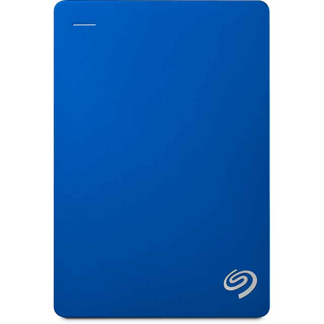 Seagate Backup Plus Portable STDR5000202 Hard Drives & External Storage in Blue