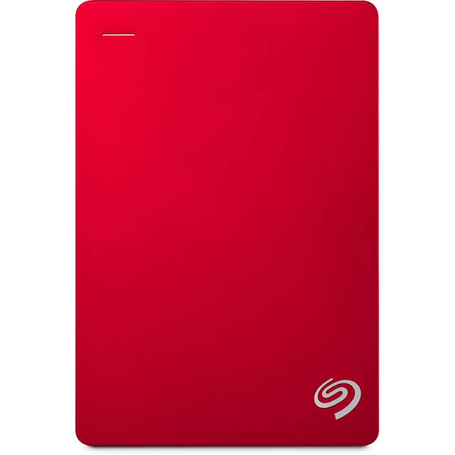Seagate Backup Plus Portable STDR5000203 Hard Drives & External Storage in Red