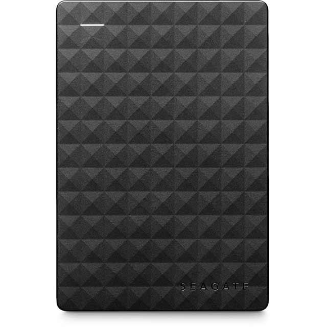 Seagate Expansion 1TB Portable Hard Drive - Black