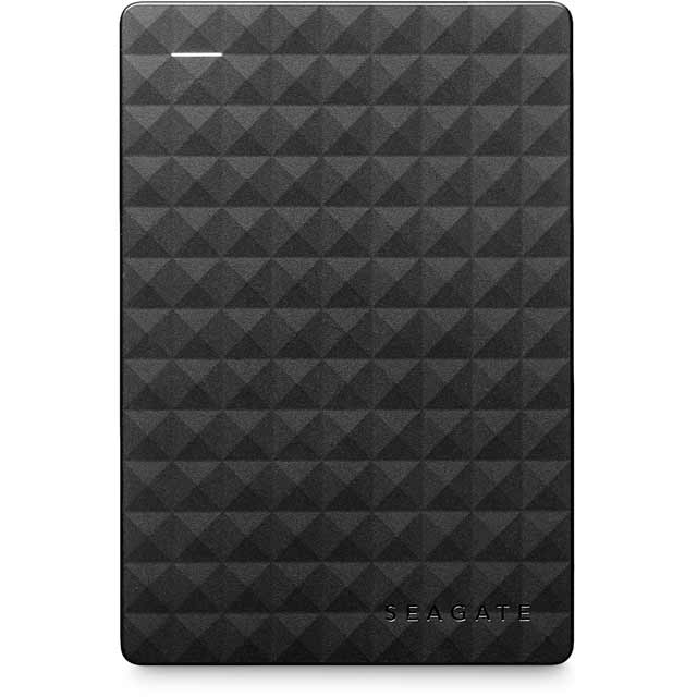 Seagate Expansion 4TB Portable Hard Drive - Black - STEA4000400 - 1