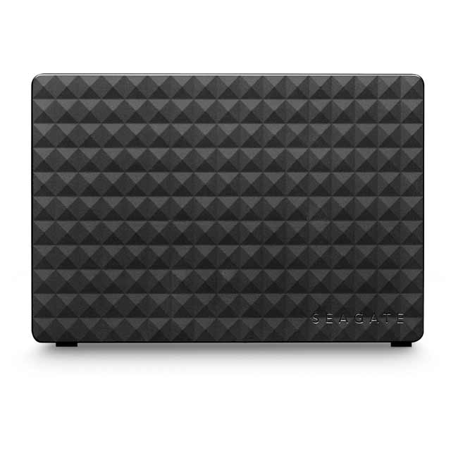 Seagate Expansion 4TB Desktop Hard Drive - Black