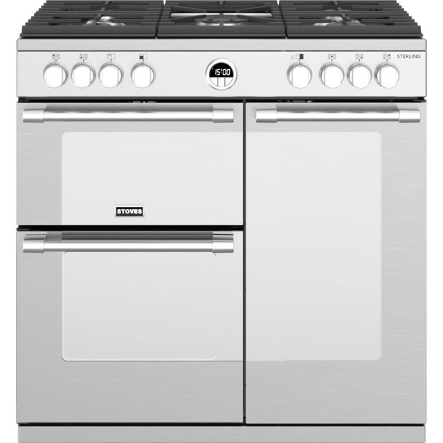 Stoves Sterling S900G Gas Range Cooker - Stainless Steel - Sterling S900G_SS - 1