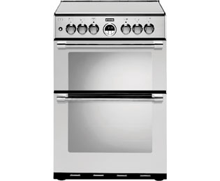 Stoves Sterling Dual Fuel Cooker - Stainless Steel - A/A Rated