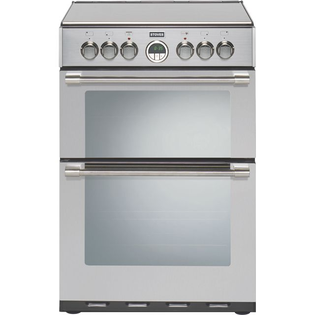 Stoves STERLING600E Electric Cooker - Stainless Steel - STERLING600E_SS - 1