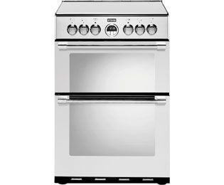 Stoves STERLING600E 60cm Electric Cooker with Ceramic Hob - Stainless Steel - A/A Rated - STERLING600E_SS - 1