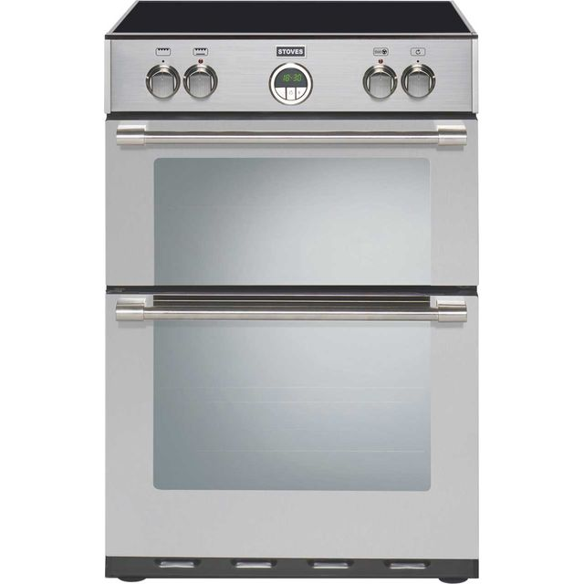 Stoves Sterling600MFTi 60cm Electric Cooker with Induction Hob - Stainless Steel - A/A Rated - Sterling600MFTi_SS - 1