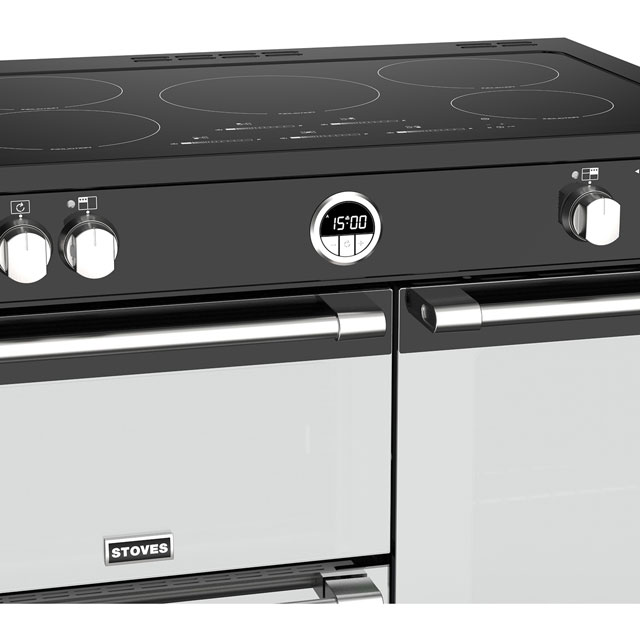 Stoves Sterling Deluxe S900EI 90cm Electric Range Cooker - Stainless Steel - Sterling Deluxe S900EI_SS - 4