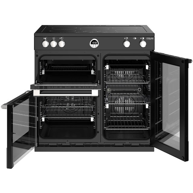 Stoves Sterling Deluxe S900EI 90cm Electric Range Cooker - Stainless Steel - Sterling Deluxe S900EI_SS - 5