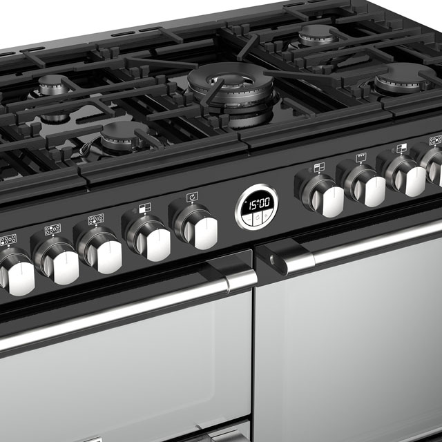 Stoves Sterling S1100DF 110cm Dual Fuel Range Cooker - Stainless Steel - Sterling S1100DF_SS - 4