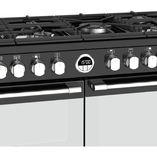 Stoves Sterling S1100DF 110cm Dual Fuel Range Cooker - Stainless Steel - Sterling S1100DF_SS - 5