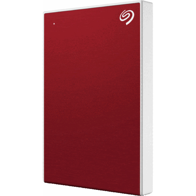 Seagate 4TB Portable Hard Drive - Red - STHP4000403 - 1