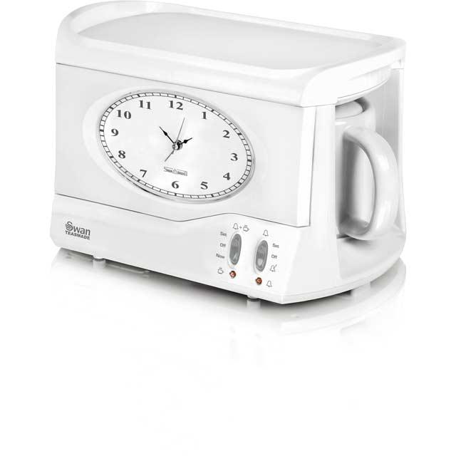Swan Vintage Teasmade Tea Maker in White
