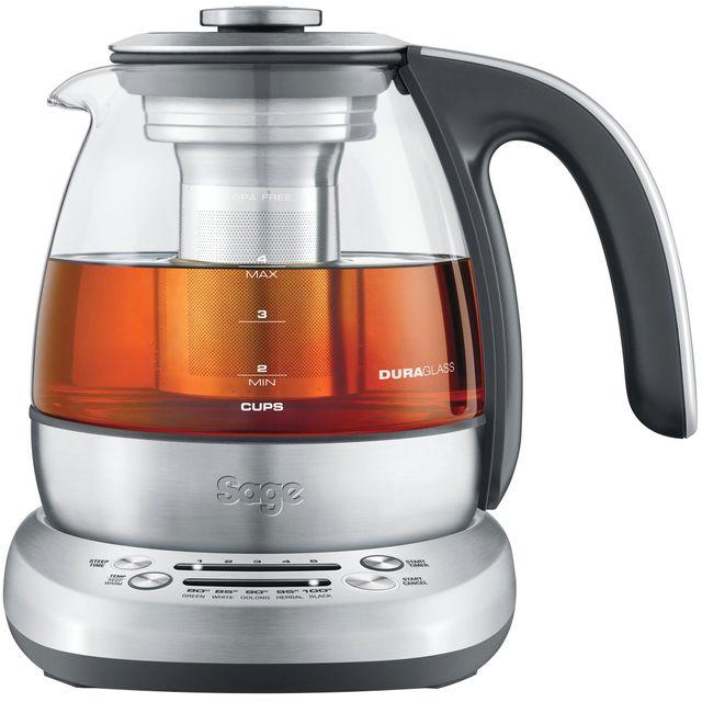 Sage The Sage Smart Tea Infuser Compact STM500CLR Tea Maker - Clear