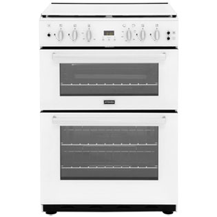 Stoves SFG60DOP Gas Cooker with Electric Grill - White - A/A Rated