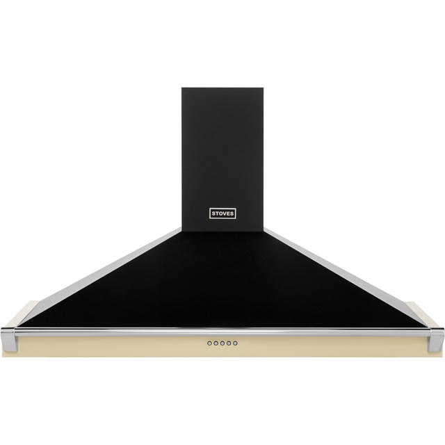 Stoves 1100RICHMONDCHRAILMK2 110 cm Chimney Cooker Hood - Champagne - C Rated - 1100RICHMONDCHRAILMK2_CH - 1