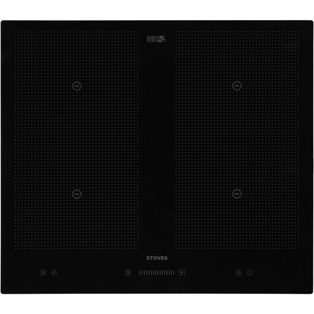 Stoves BHIT601 59cm Induction Hob - Black - BHIT601_BK - 1