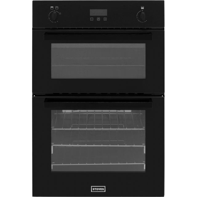 Stoves BI900G Built In Double Oven - Black - A/A Rated - BI900G_BK - 1