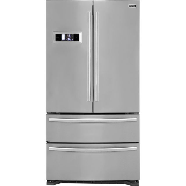 Stoves FD90SS American Fridge Freezer - Stainless Steel - A+ Rated - FD90SS_SS - 1