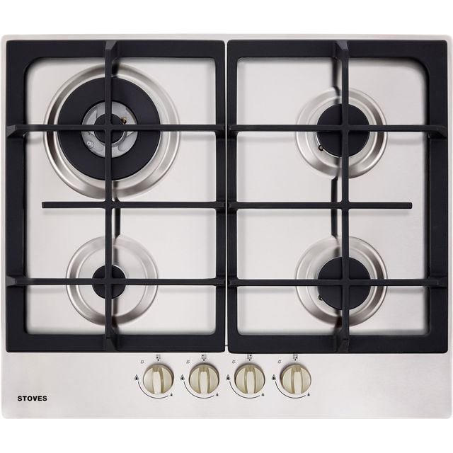 Stoves GHU60C 60cm Gas Hob – Stainless Steel