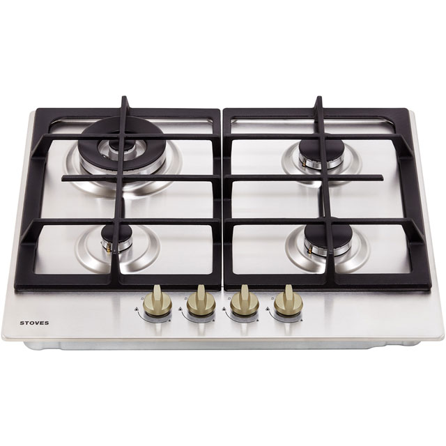 Stoves GHU60C Built In Gas Hob - Stainless Steel - GHU60C_SS - 4