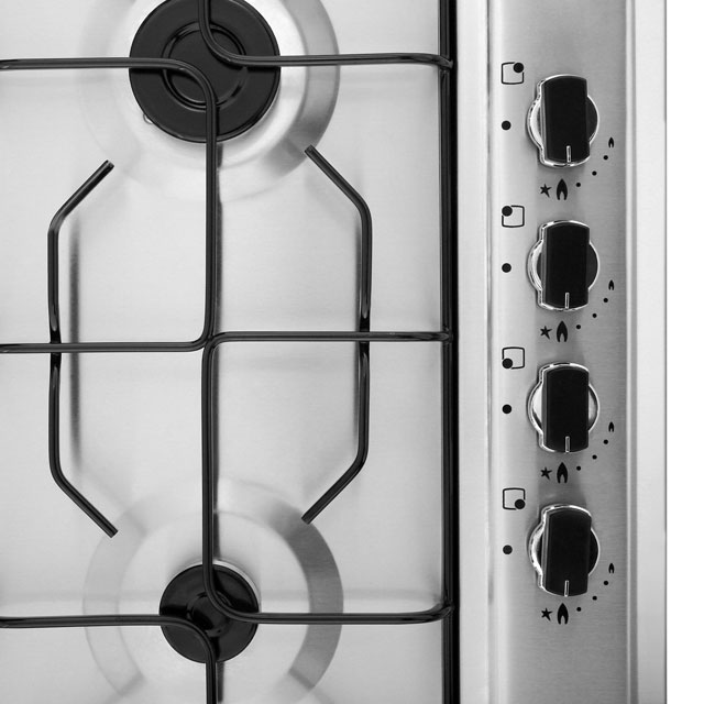 Belling GHU60GEMK2BLK Built In Gas Hob - Black - GHU60GEMK2BLK_BK - 2