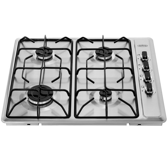 Belling GHU60GEMK2BLK Built In Gas Hob - Black - GHU60GEMK2BLK_BK - 4