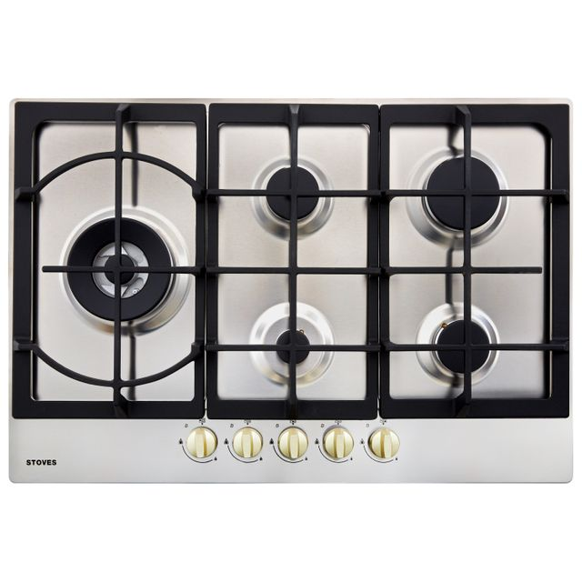 Stoves GHU75C 75cm Gas Hob – Stainless Steel